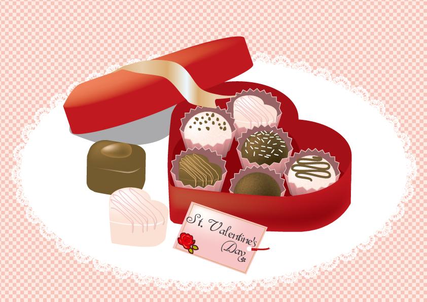 デー チョコ バレンタイン